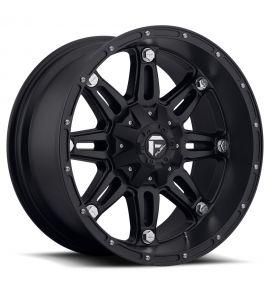 17x9 Fuel Off-Road Wheels | 1 piece D531 HOSTAGE 5x114.3/5x127 MATTE BLACK -12 Offset (4.53 Backspace) 78.1 Centerbore | D53117902645