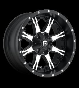 20x9 Fuel Off-Road Wheels | 1 piece D541 NUTZ 6x135/6x139.7 MATTE BLACK MACHINED 20 Offset (5.79 Backspace) 106.1 Centerbore | D54120909857