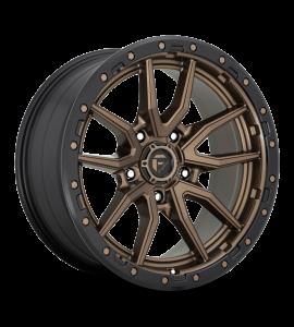 20x10 Fuel Off-Road Wheels | 1 piece D681 REBEL 8x165.10 MATTE BRONZE BLACK BEAD RING -18 Offset (4.79 Backspace) 125.1 Centerbore | D68120008247